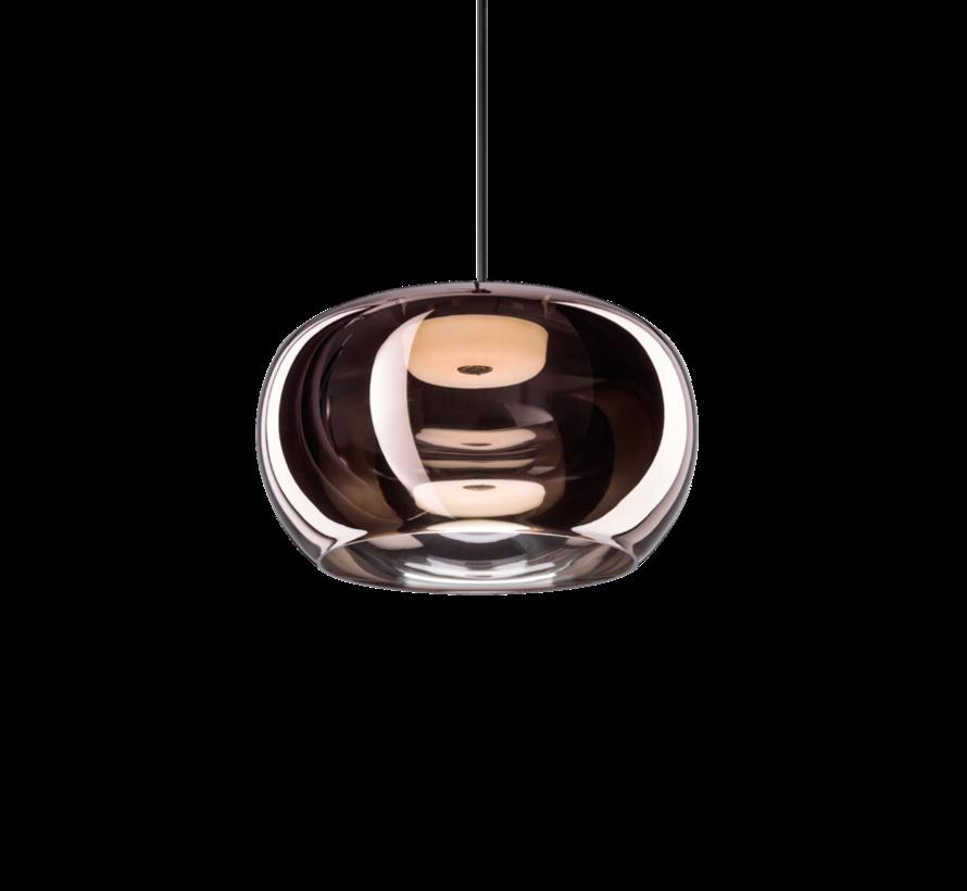 Wetro3.0 handgeblazen glazen Ø300mm LED hanglamp in 5-kleuren dimbaar
