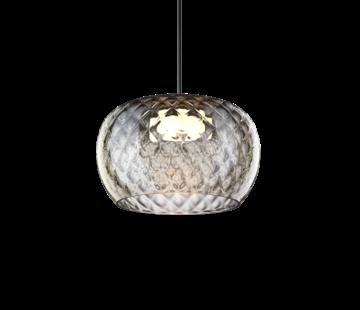 Wever-Ducre Wetro3.0 handgeblazen glazen Ø300mm  LED hanglamp dimbaar
