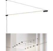 Wever-Ducre Darf 1.0 LED wall fixture 1626mm dimmable