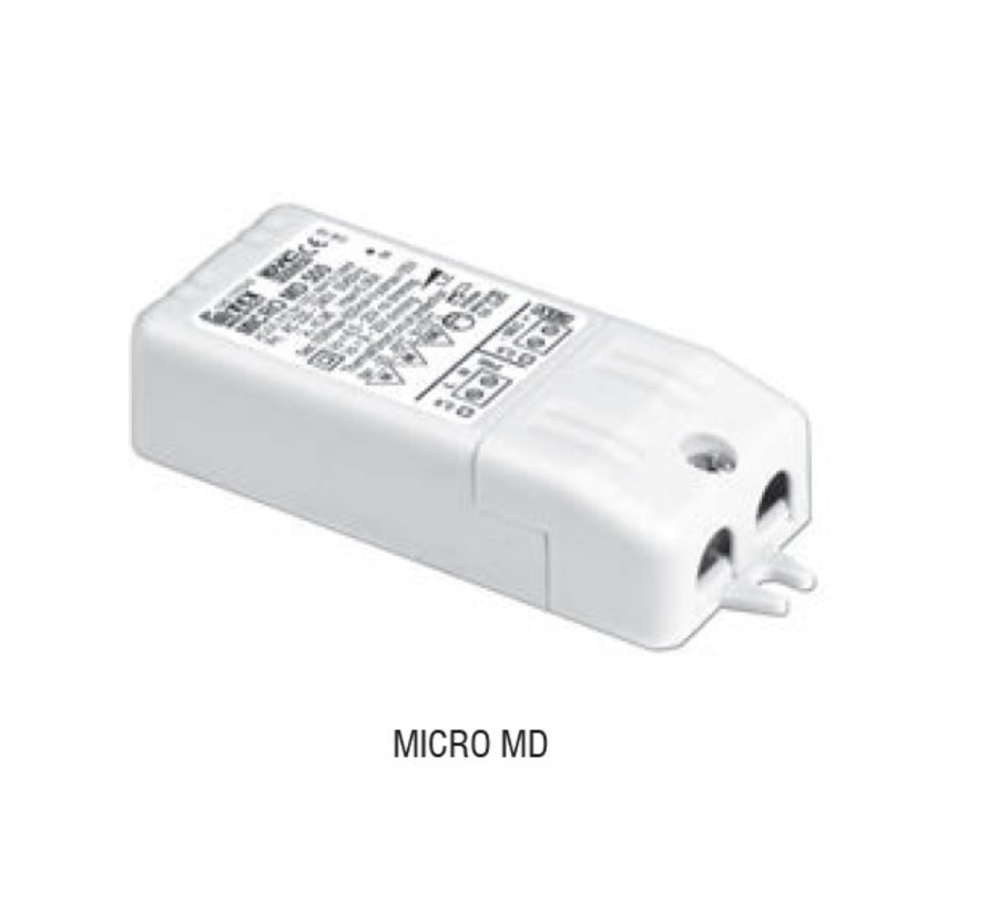 Micro MD350 dimmable  driver 350mA 4-10Watt TRAILING EDGE-LEADING EDGE