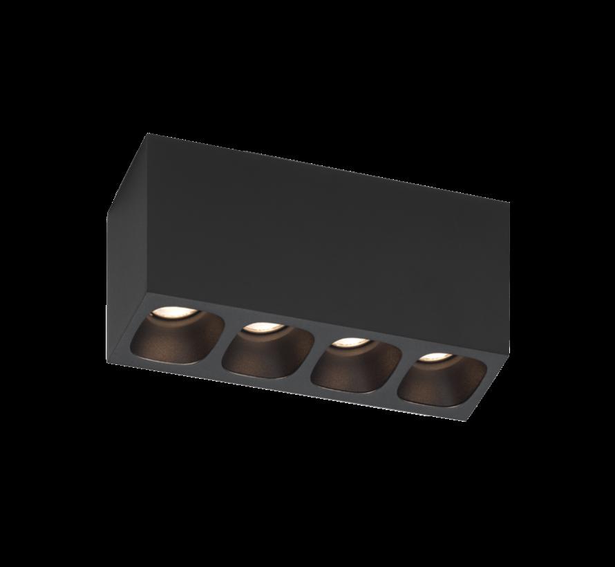 Pirro 4.0 ceiling surface LED 4x4Watt dimbaar
