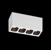 Wever-Ducre Pirro 4.0 surface LED 4x4Watt dimbaar