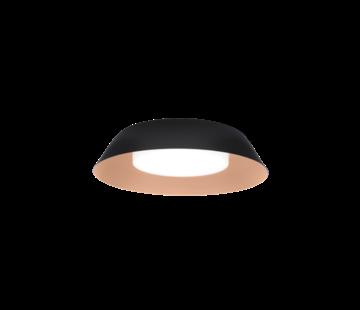 Wever-Ducre Towna 1.0 IP44 plafond opbouw 13Watt Ø254mm dimbaar