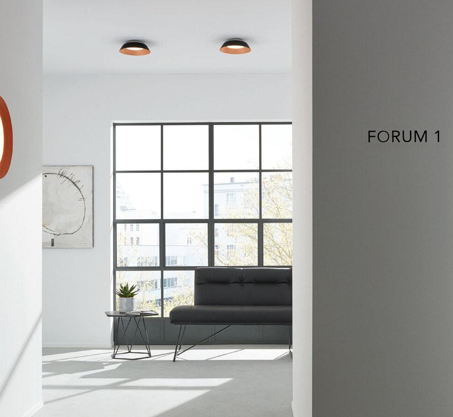 Towna 1.0 IP44 ceiling surface 13Watt Ø254mm dimmable