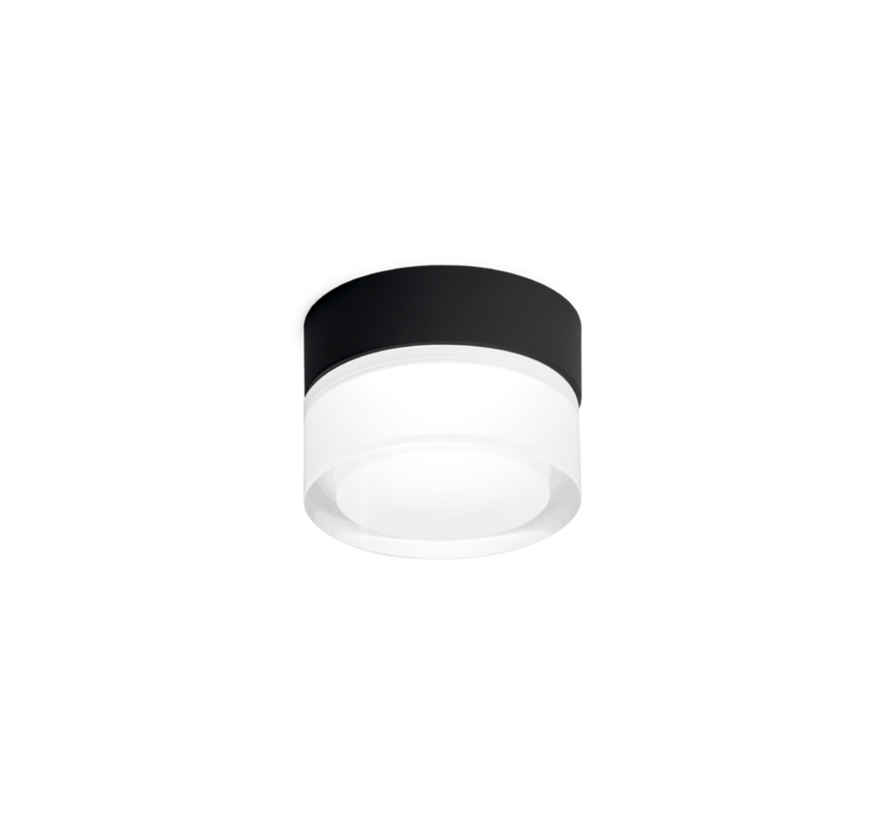 Mirbi 1.0 IP44 celing surface LED 7W-3000K dimmable Ø92mm