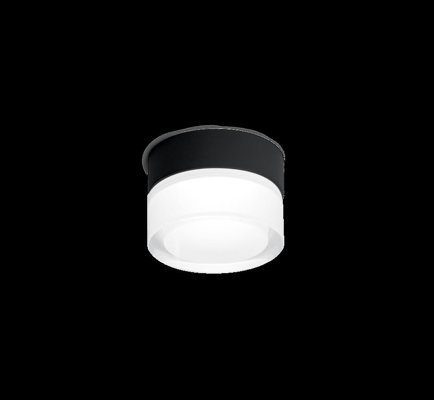 Mirbi 1.0 IP44 opbouw LED 7W-3000K dimbaar Ø92mm