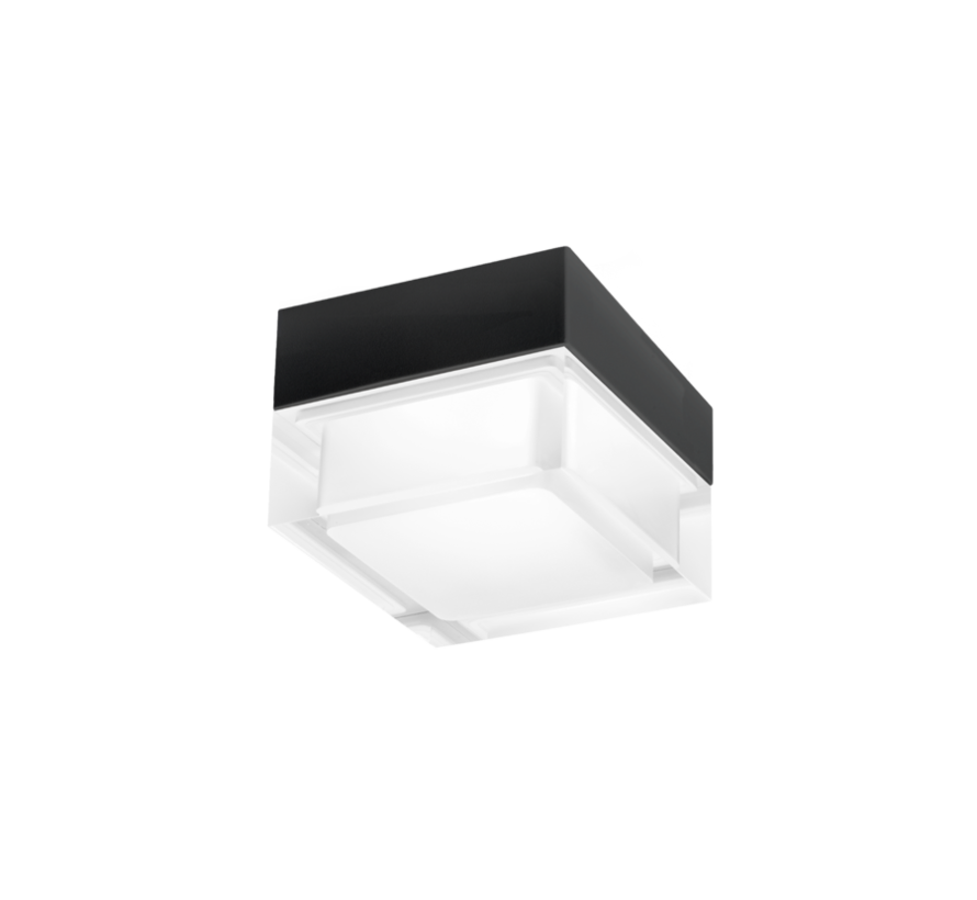 Mirbi 2.0 IP44 ceiling surface LED 7W-3000K dimmable 90x90mm