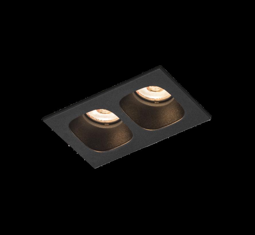 Pirro 2.0 inbouw LED 2x4,5Watt dimbaar excl. driver