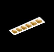 Wever-Ducre Pirro 6.0 inbouw LED 6x4,5Watt dimbaar excl. drivers