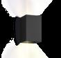 Box 3.0 led 2 x 3W up/down instelbare lichtbundels dimbaar