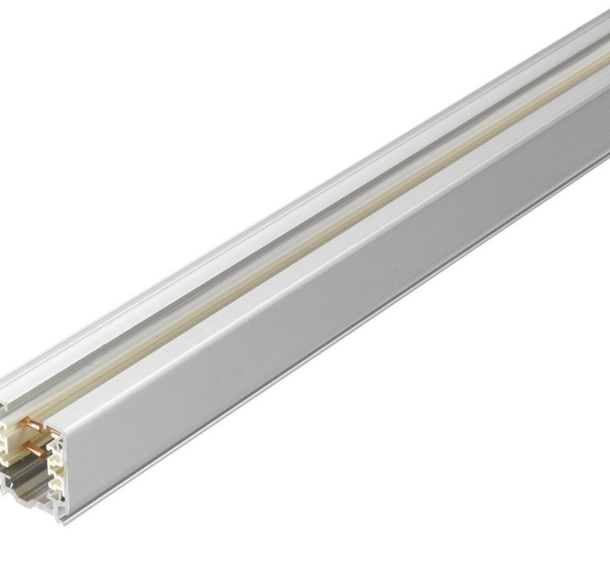 Track 3-fase surface 100-200-300cm in white or black
