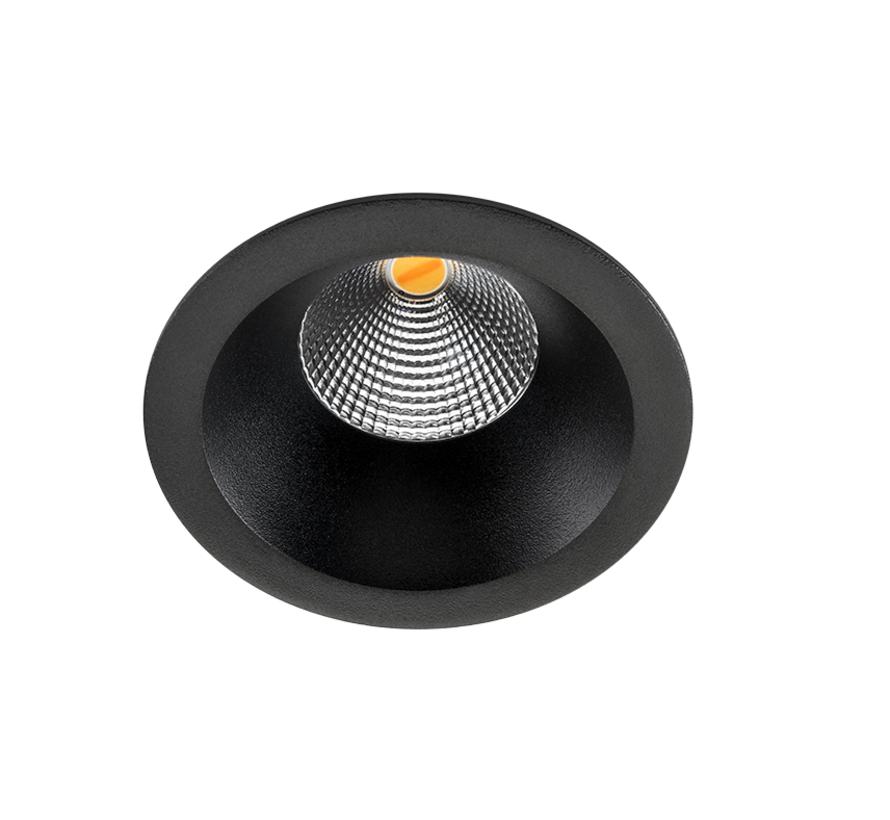 Soft Dim To Warm ledspot 6Watt -2000/2800K in wit of zwart