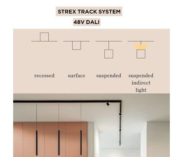 Strex track system 48Volt DALI