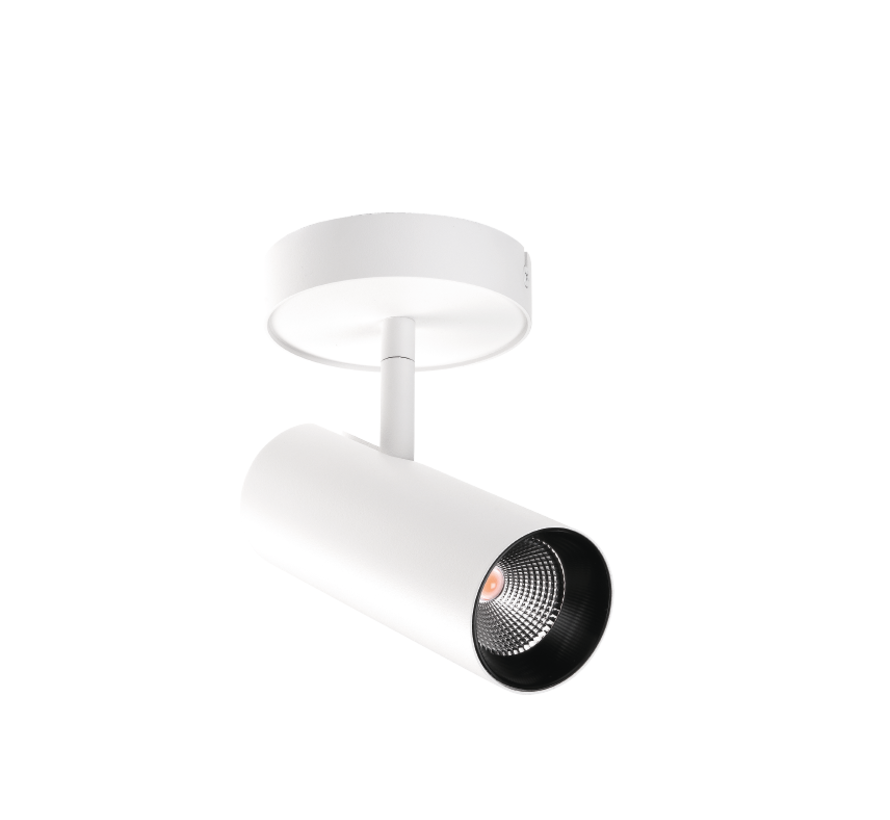 Tube Mini S surface 17W-2700K dimmable in white or black