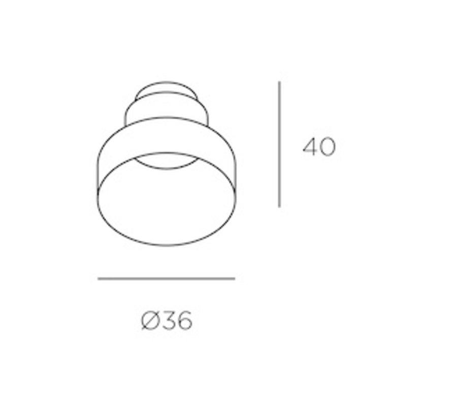 Play High Visual comfort trimless ledspot 3,2Watt-2700K