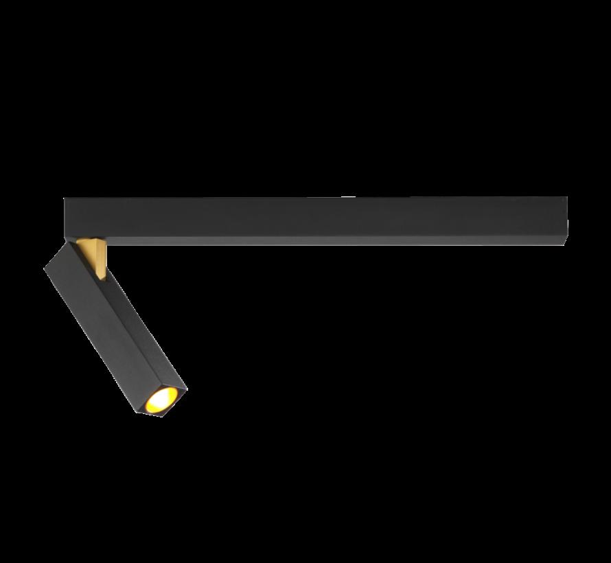 Mick 1.0 ceiling surface 7Watt dimbaar in 2 kleuren