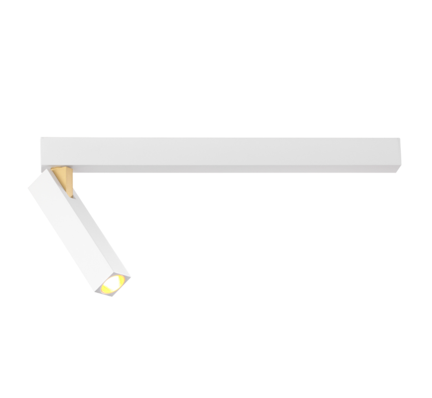 Mick 1.0 ceiling surface 7Watt dimmable in 2 colours