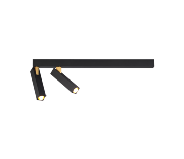 Wever-Ducre Mick 2.0 ceiling surface 2x7Watt dimmable