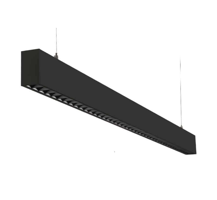 Inspire direct/indirect pendelarmatuur 4140lm-3000K lengte 124cm