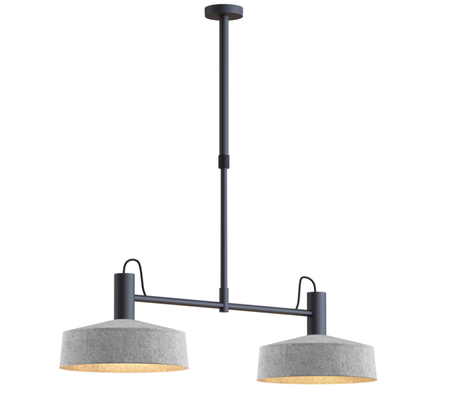 Roomor 2.0 E-27 pendant lamp with Shade 3.0