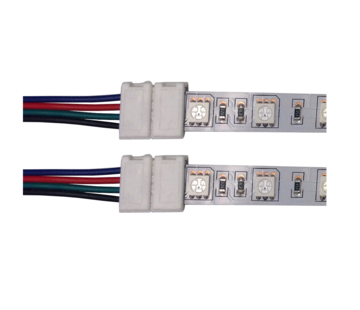 RGB + RGBW ledstrip (corner)connector 18cm