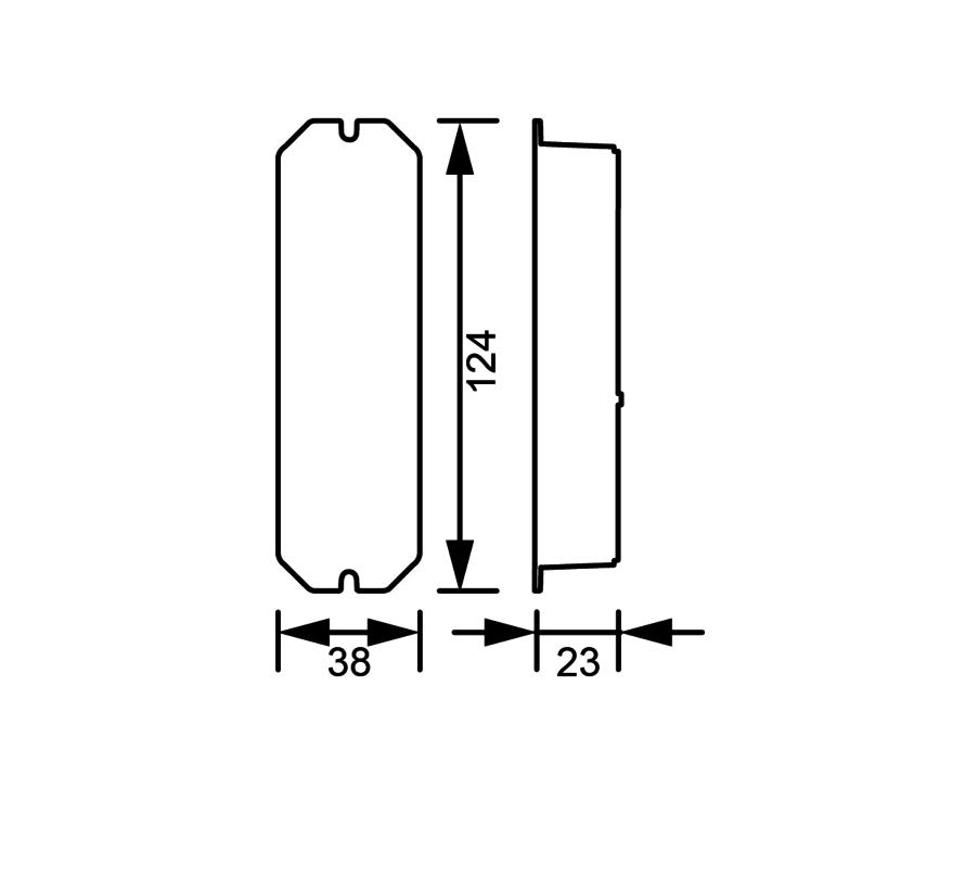 Colour Zone II 5-kanaals ledstrip controller 12-24Volt met AB