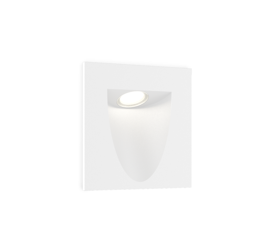Smile In 2.0 led wall recessed square 4/6W-3000K