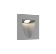 Wever-Ducre Smile In 2.0 led wall recessed square 4/6W-3000K