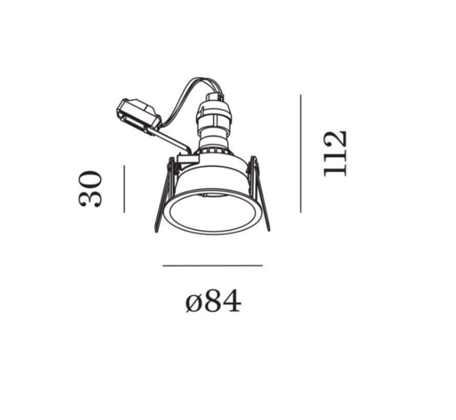 Deeper IP44 1.0 PAR16 vaste en verdiepte Led inbouwspot GU10