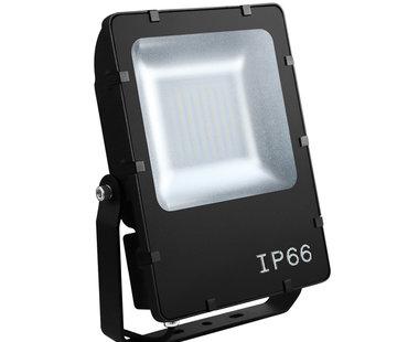 Integratech Floodlight Evolve gevelstraler 48Watt zwart 120graden