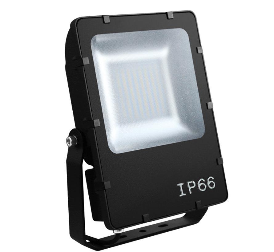 Floodlight Evolve 48Watt zwart 120graden in 3-4000K