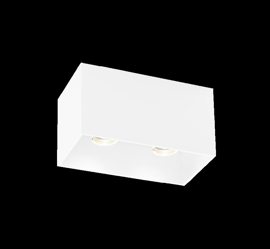 Box 2.0 PAR16 opbouw LED armatuur 2 x GU10 230Volt