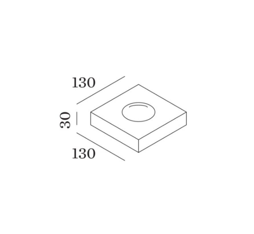 Leens 2.0 wall surface 8W-3000K up/down wandarmatuur dimbaar