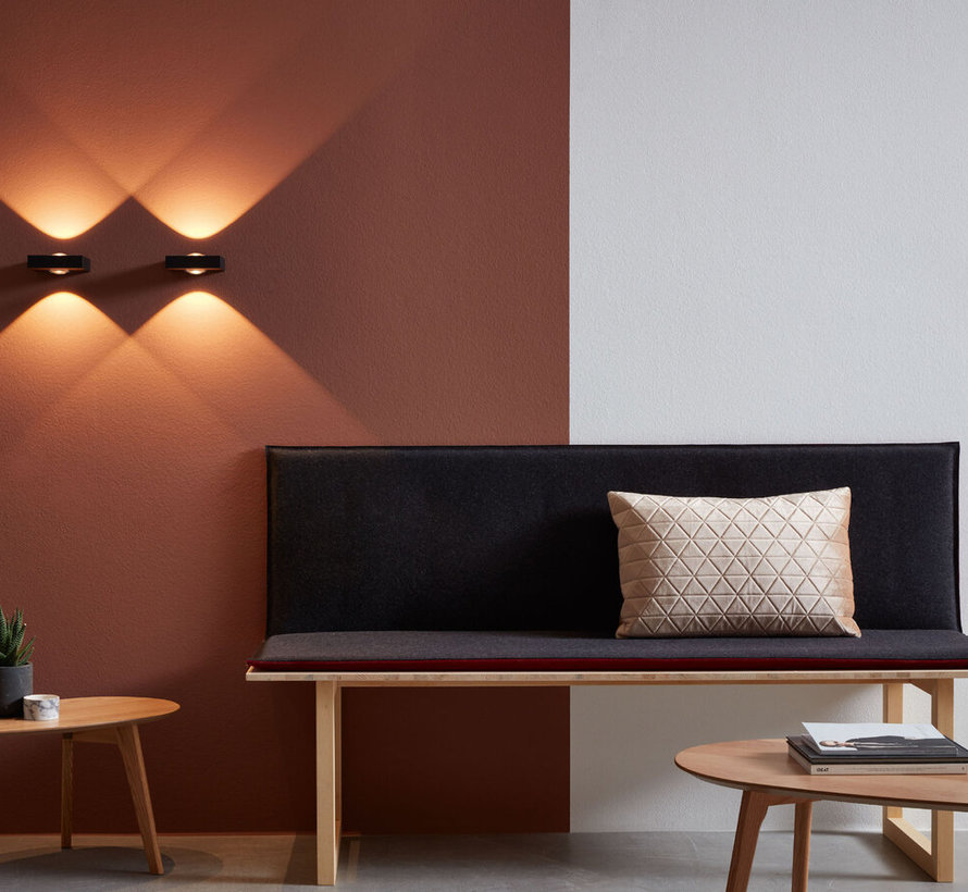Leens 2.0 wall surface up/down 8W/3000K dimmable