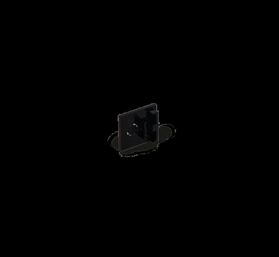 Strex end cap wit of zwart