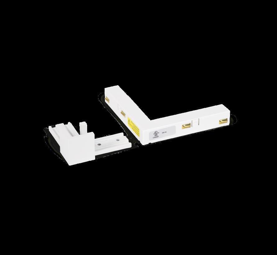 Strex L-connector white or black