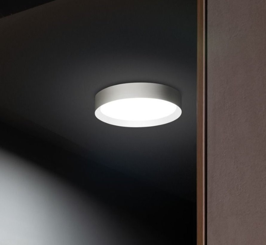 Flo T300 ceiling surface/wall 30Watt Ø300mm in 4 colours