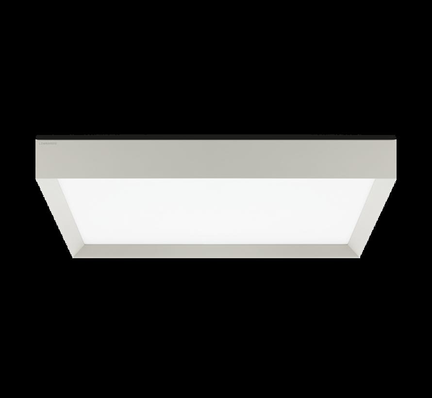 Flo Q500 ceiling surface 39Watt 500x500mm in 4 colours