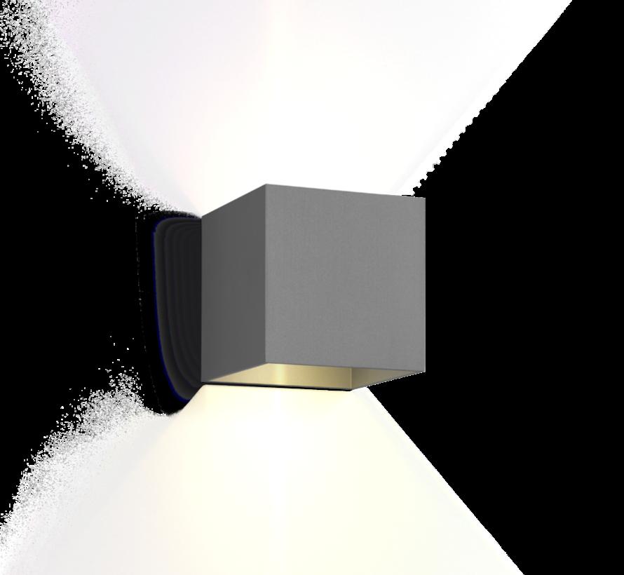 Box 2.0 outdoor led 2 x 3W up/down instelbare lichtbundels dimbaar