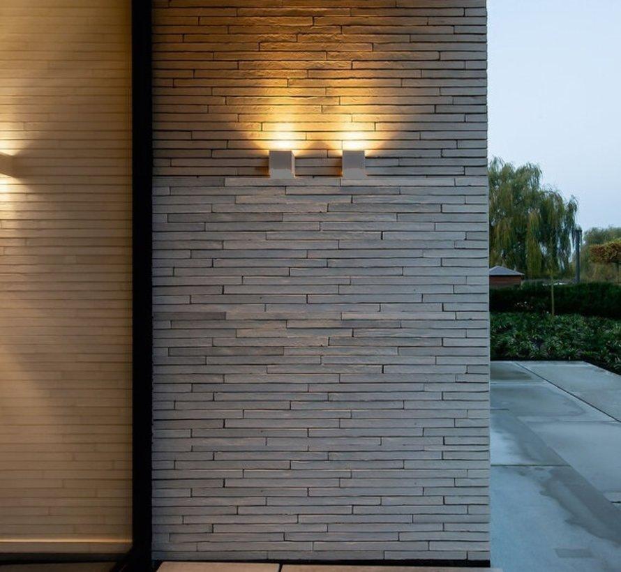 Box 1.0 outdoor led 6W up of down instelbare lichtbundels dimbaar