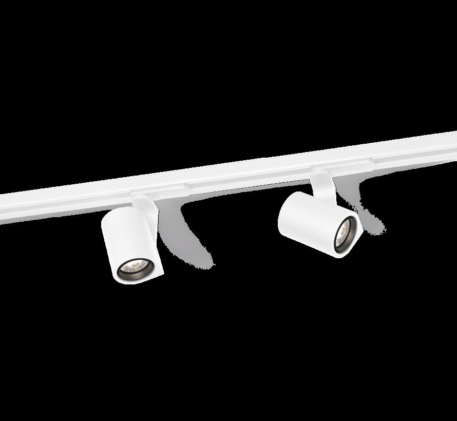 Sqube 1.0 LED on track 1-fase 6Watt led railspot