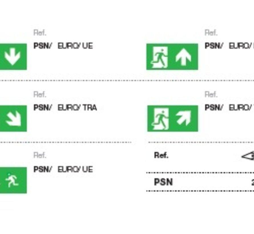 Europrisma IP65 noodarmatuur 1-uurs
