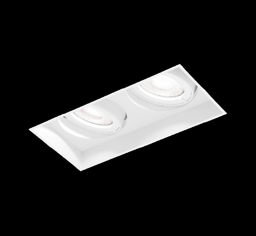 Strange Petit 2.0 LED 2x6Watt trimless inbouwspot