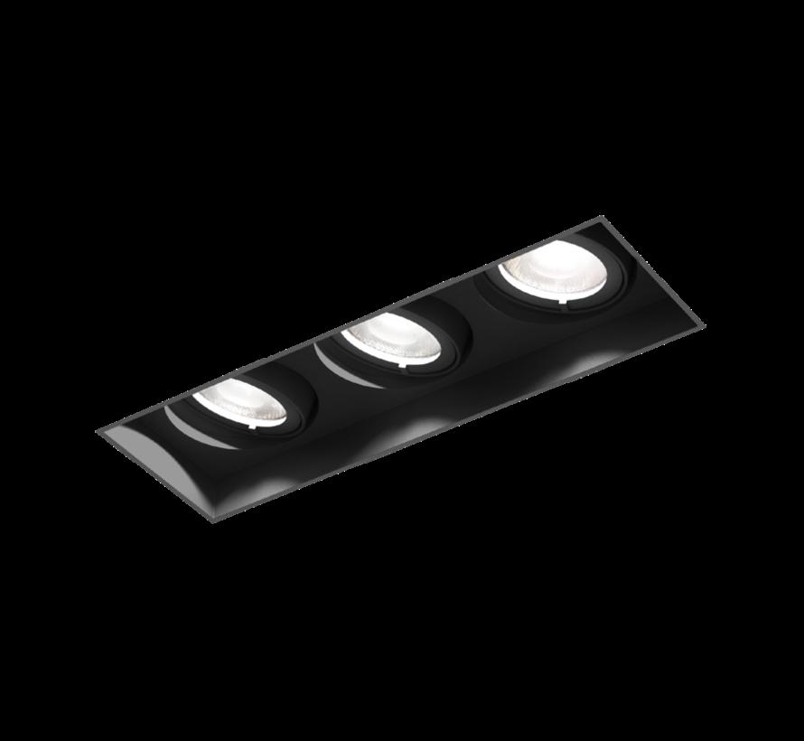 Strange Petit 3.0 LED 3x6Watt trimless inbouwspot