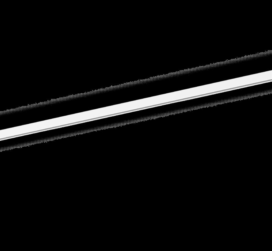 Strex track 48Volt suspended met indirect ledlicht  in wit of zwart