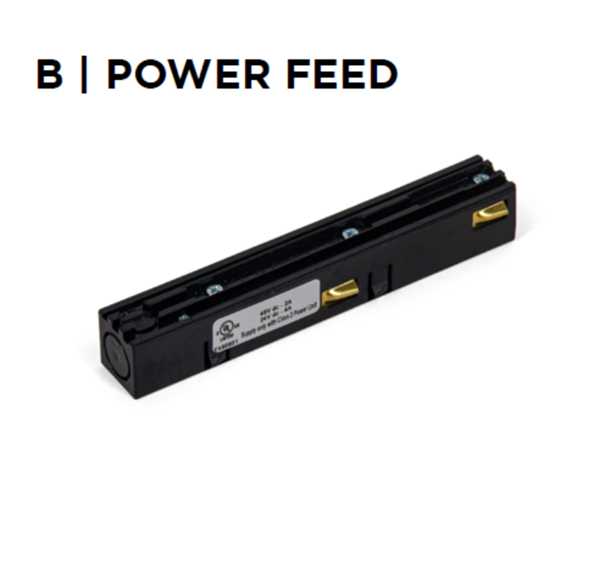 Strex Power Feed white or black
