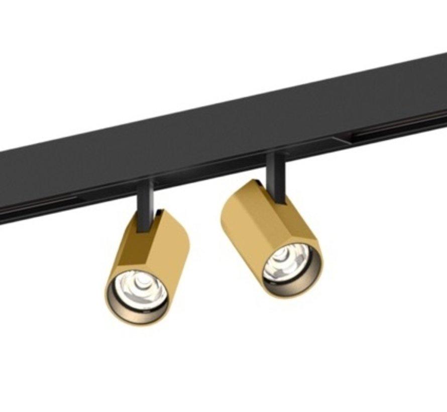Ceno 2.0  LED on strex track spots 2x6W-48Volt