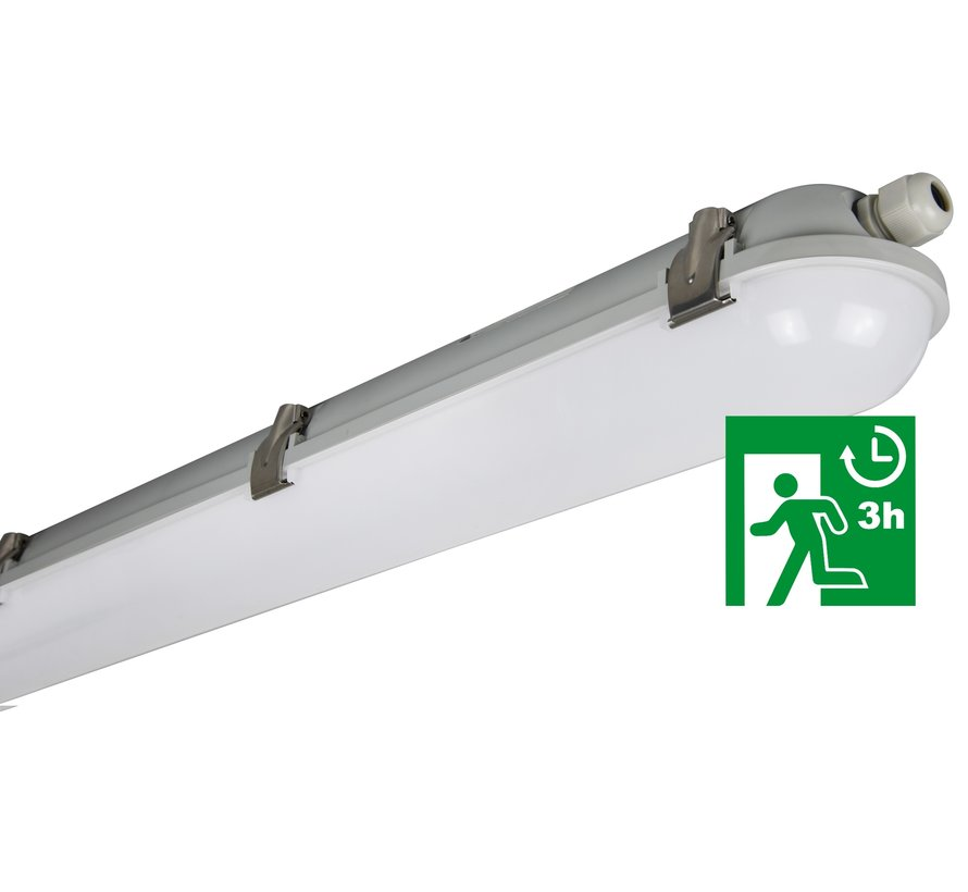 Rocco MM10357 Impact resistant surface-mounted luminaire 40W-4000K IP65 + emergency