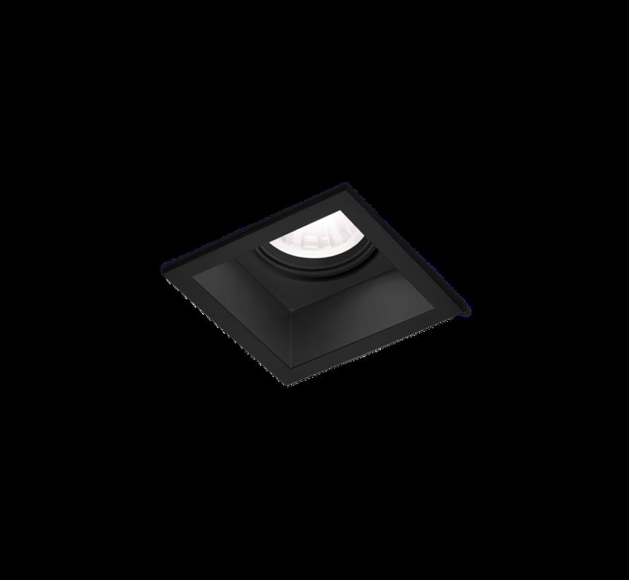 Plano IP44 1.0 LED 7/10Watt recessed spot in white or black
