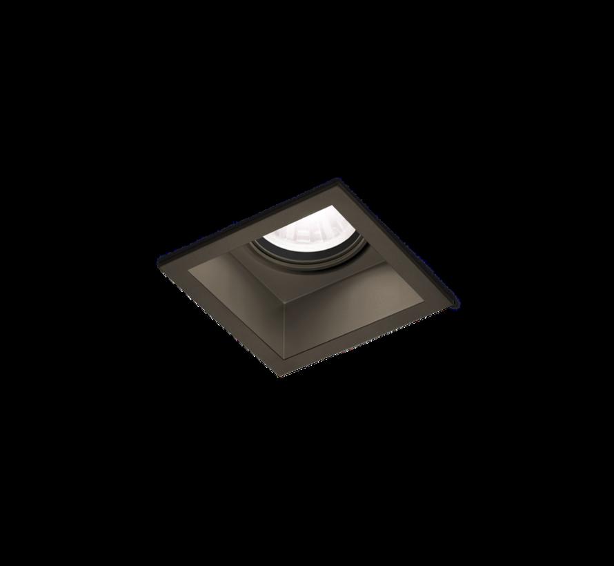 Plano 1.0 PAR16 orientable recessed spot in 4 colors